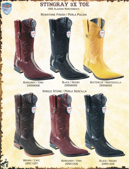 9e77e62e17d Cowboy Boots Toe Styles  A Look At Various Alternatives - Mens Suits